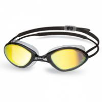 Стартовые очки для плавания HEAD TIGER RACE Mirrored LiquidSkin, для соревнований